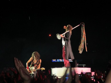 Even The Mic Stand Has A Wardrobe