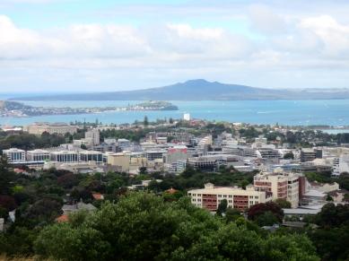 Rangitoto Island From Afar