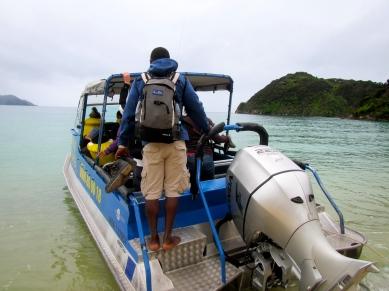 Boat Ride Across the Broken Path