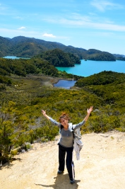 Happy in the Tasman
