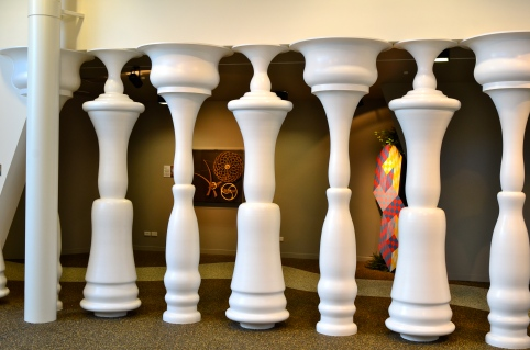 Pensive Pillars