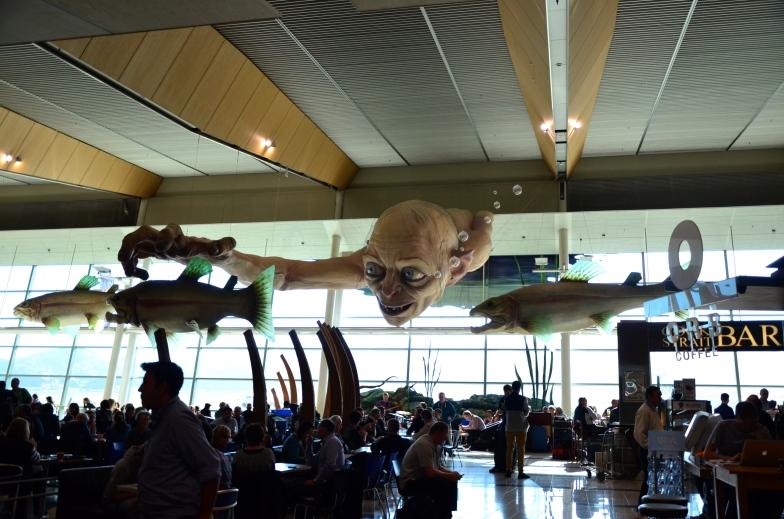 Gollum's Plane Food
