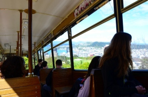 Cute cable car relic