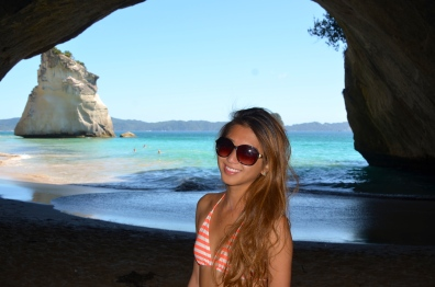 Claiming my favorite cove!