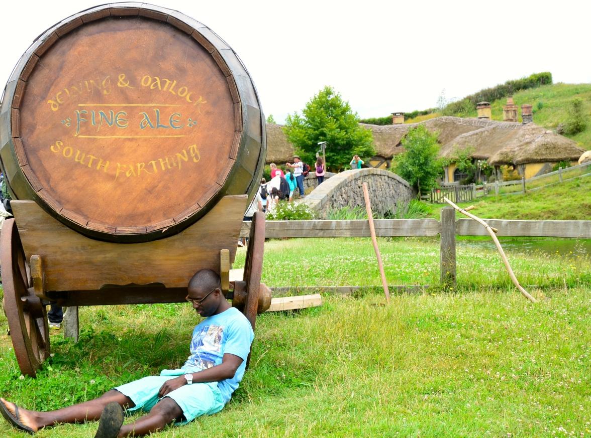 K.O... Bilbo's worst drinking buddy