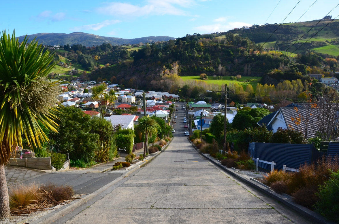 Down The World's Steepest Street