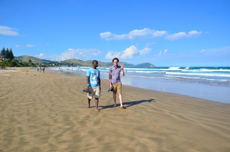 Dos Beachgoers