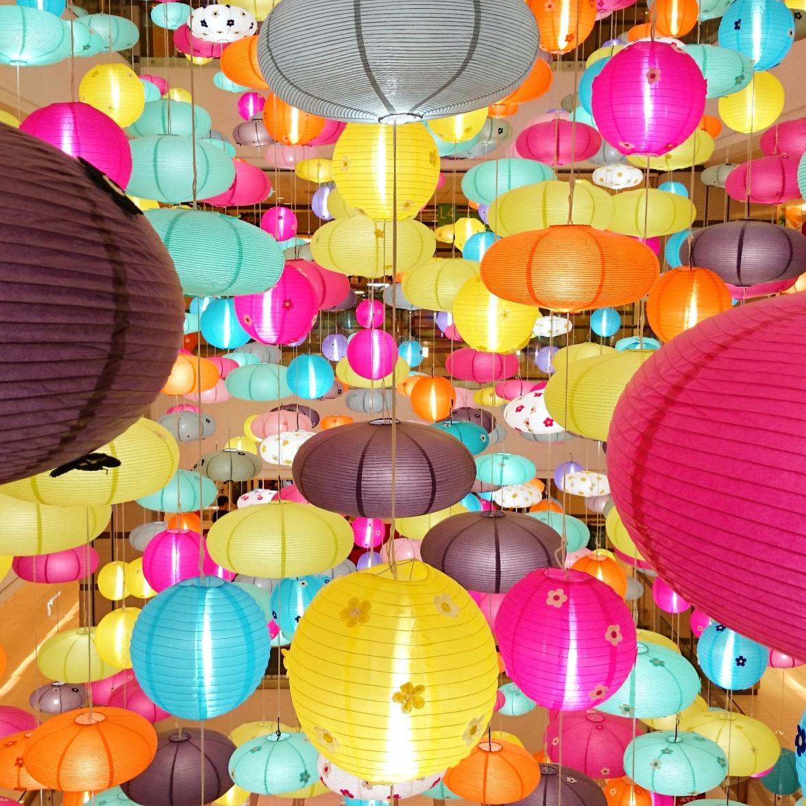 Rainbow of Lanterns
